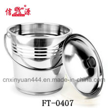 Stainless Steel European Style Champagne Bucket (FT-0407)