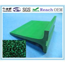 Perfil de PVC de construção de espuma