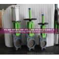 Valve de porte de couteau de valve de l'eau d'OEM pour le traitement de l'eau