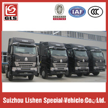 Stock Howo A7  truck tractor 420hp 6x4 drive
