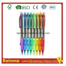 Lápis mecânico da cor plástica para artigos de papelaria da escola