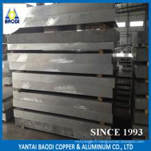 Association d'aluminium de plaque d'aluminium 5052 H32, matériel de décoration de magasin de grande quantité laminé à chaud de 1200mm * 2400mm