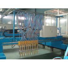 Gantry Cnc Plasma / Flame Cutting Machine , Aluminum / Copper Strip Cutter Idle Speed ≤ 2500mm/min