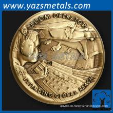 fertigen Metallmünze, Boom Operator, Air Force Herausforderung Münze