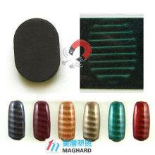 Magnetic Nail Art Magnet Ellipse Shape cross stripe