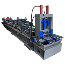 Auto C Purlin Steel Roll Forming Machine