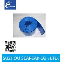 Manguera de descarga de PVC azul con alta calidad