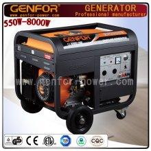 Generador del uso casero, generador de la gasolina 8kVA