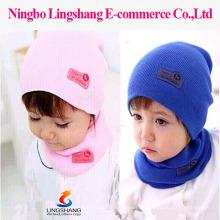 2015 Hot Sale Unisex Baby Beanie Chapéu Boné Crianças Acessórios Algodão macio Cute Hat Toddler Meninos & Meninas crianças tricotados Hat Cap