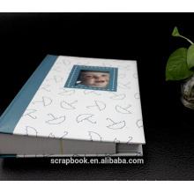 Ханчжоу горячие дешевой кожи альбом скрапбукинга традиционных фотоальбомы
