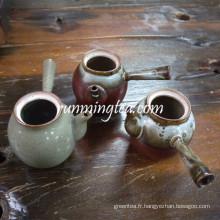 Différents pot de thé en argile / pot de céramique style japonais