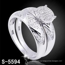 Anillo de compromiso de plata de la joyería de moda 925 (S-5594. JPG)