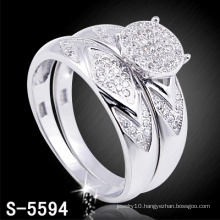 Fashion Jewelry 925 Silver Engagement Ring (S-5594. JPG)