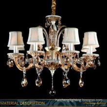 Hotel modern crystal chandeliers pendant light
