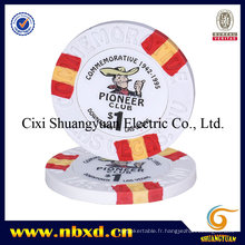 9,5g 3-Tone Clay Poker Chips