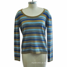 100% Caxemira Mulheres Malha Sweater