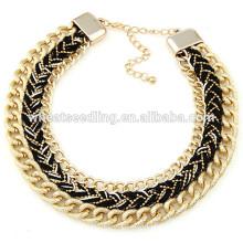 Moda artesanal colar de corrente sexy fazer colares de cadeia