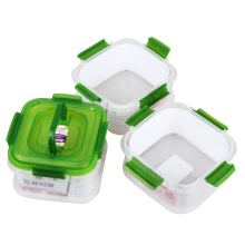 3 Compartment Airtight Food Grade Storage Container with Lid