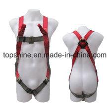 Full-Body Poliéster Ajustable Profesional de Seguridad de Protección Cinturón de Seguridad Industrial