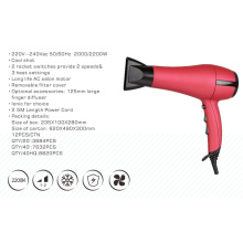 Professional AC Hair Dryer Wholesale with Finger Diffuser Option