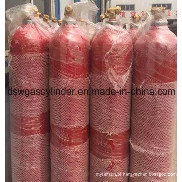 99,999% gás de oxigênio preenchido no cilindro de 10L com valor Qf-2c para venda