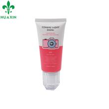 50ml en plastique peau blanchiment crème tube acrylique aquarium emballage