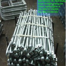 Galvanised Steel Ball Jointed Railings Stanchions