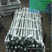 Hot DIP Galvanized Steel Handrails for Steel Structure Railings