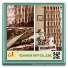 Flocage de tissu pour rideau de fenêtre en tissu