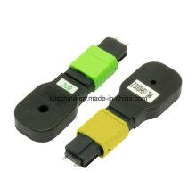 Bouclages optiques d'atténuateur de fibre de MPO pour l'usage de réseau