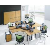 MFC Wooden Furniture 4 Seat for Big Office Workstation (DA-155)