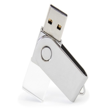 Crystal Swivel USB Flash Drive mit benutzerdefiniertem Logo