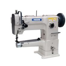 Single Needle Silinder Arm Compound Feed Walking Foot Heavy Duty Lockstitch Leather Sewing Machine