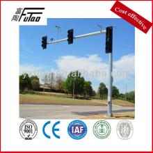 octagon traffic signal pole