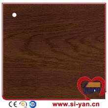 Wood color decorative pvc film for furniture