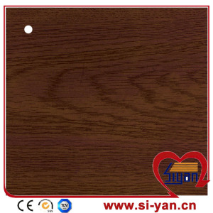 Wood color decorative pvc film for furniture