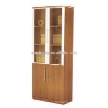Librairie en mélamine à chaud, armoires bois en bois anti-feu