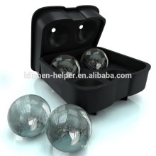 Ice Ball Maker, Premium Ice Ball Mold, Ice Balls Melt Slowly Without Diluting Your Drinks
