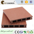 Wood plastic composite interior or indoor decking flooring