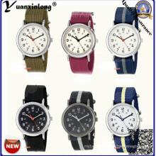 Yxl-139 Fashion Nylon Nato Strap Men Women Watch Vogue High Quality Dress Watch Casual Sport Ladies Wrist Watch Factory