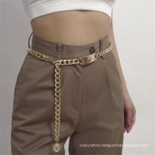 Fashion Women Sexy Golden Belly Chain Waist Belt Bikini Beach Pendant Body Jewelry