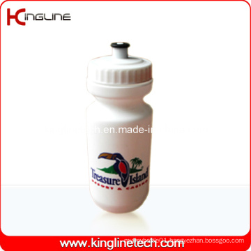 Plastic Sport Water Bottle, Plastic Sport Bottle, 600ml Plastic Drink Bottle (KL-6614)