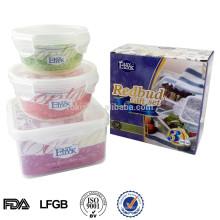 Guangdong L grau pequeno plástica transparente caixa do alimento