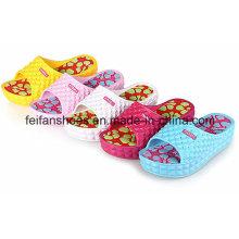 Pantoufles de plage de massage épais EVA femmes Flip Flop Sandale intérieure
