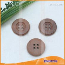 Botones de madera naturales para la prenda BN8028