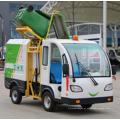 Caminhão de lixo elétrico com novo design