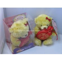 Плюшевая игрушка медведя любви, плюшевая игрушка, мягкая игрушка