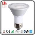 ÉPI COB LED de la vente chaude 7W, lumière de Dimmable LED PAR