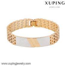74548 moda especial pulsera de aleación de cobre multicolor fresco de la pulsera
