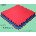 T Pattern Red Blue Color Eva Judo Floor Mat 4cm